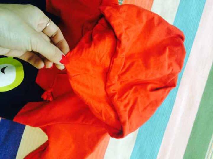 singbail心倍爱童装0-1-2-3岁男女宝宝连帽卫衣棉婴儿秋装外套小童上衣潮童装 V0051蓝色 73 晒单图