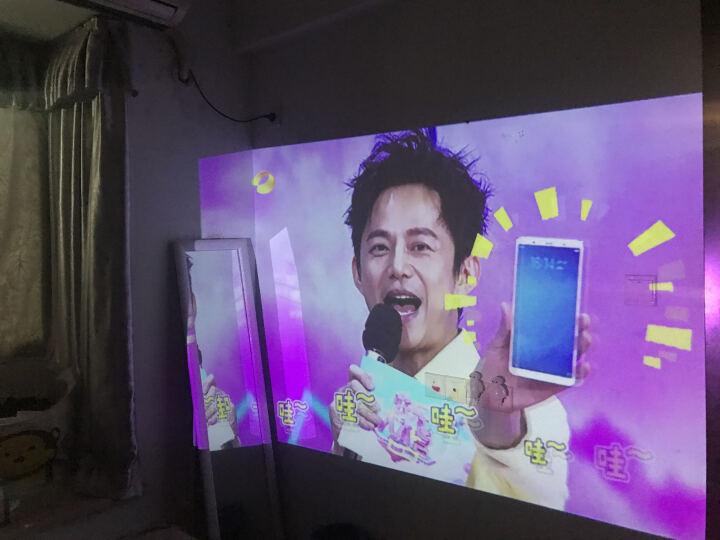 Tumetimes 图美Q8微型手机投影仪家用迷你全高清投影机智能wifi短焦3D无线便携办公 16G 香槟金 晒单图