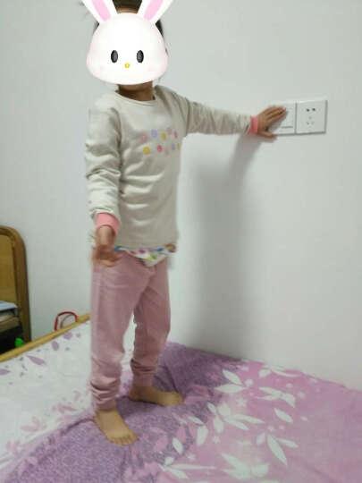 俞兆林(YUZHAOLIN) 儿童棉内衣套装男女童内衣裤2件套小孩休闲中大童学生秋衣秋裤 多样仙人掌-灰绿 140CM 晒单图