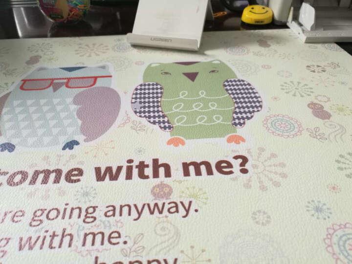 昕科电脑桌垫 办公桌垫图案款pvc桌布鼠标垫超大写字桌垫防水垫 风格款-放飞的梦想 晒单图