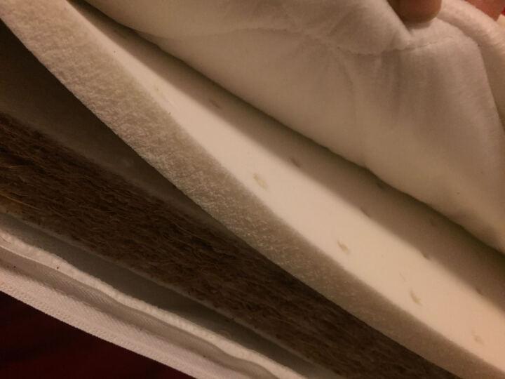 Evangeline 婴儿床垫天然椰棕乳胶透气幼儿园儿童床垫 6cm四季款(椰棕+乳胶内芯) 120*65 晒单图