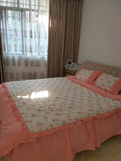艾丝薇儿 床裙四件套纯棉床裙床罩床上用品四件套纯棉床上四件套床罩被罩四件套韩版全棉1.8米 北欧星空 1.8*2.0m床 被套220*240cm 晒单图