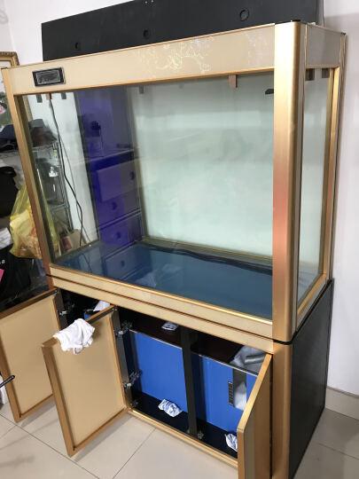 欧宝 金龙鱼缸 玻璃生态水族箱 屏风 大型 鱼缸1.2米 底滤1.5米 客厅 3米办公室别墅定制鱼缸 120x50x90/68底过滤 晒单图