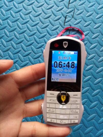 紐萬(Niuwan) F1 CDMA电信2G 迷你手机 超小汽车跑车学生手机 儿童手机 白色 晒单图