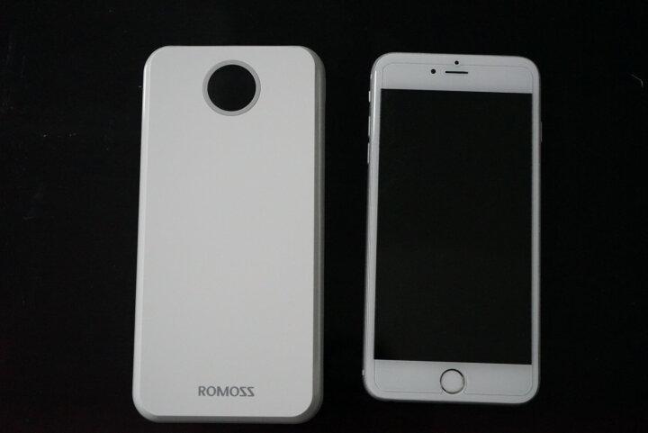 罗马仕(ROMOSS)HO20锂聚合物 移动电源/充电宝 太阳神20000毫安LED数显屏 深蓝色 苹果/安卓双输入 手机/平板通用 晒单图