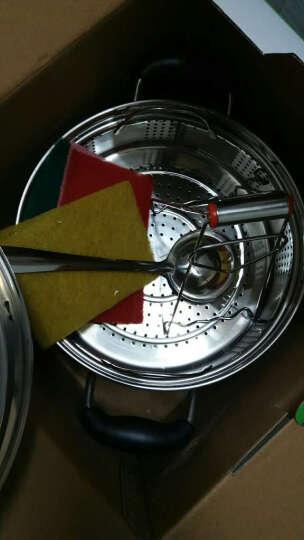 振能(ZHENNENG) 振能 新日式蒸锅 进口不锈钢复底蒸锅锅  电磁炉通用 20复底 24cm复底 晒单图