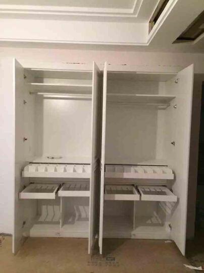 柏氏格林 成都欧式吸塑模压整体橱柜定做开放式厨房定制石英石台面厨柜现代简约全屋定制 (地柜)模压门板+多层实木柜体+台面/米 晒单图