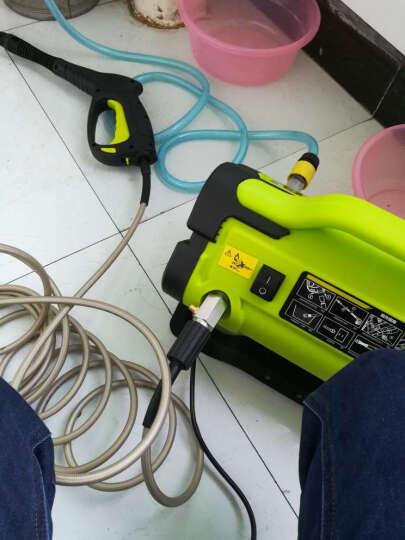 SSC高压洗车机家用220V清洗机车载洗车器便携洗车泵高压洗车水枪1616d 晒单图