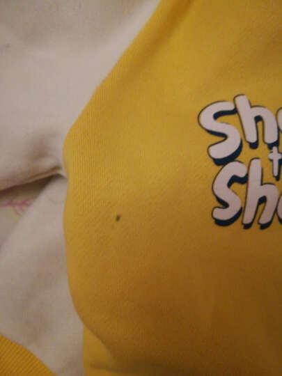 小羊肖恩 童装秋冬款儿童外套男童外套上衣中大童女童加厚保暖棉服外套 2W63SS134黄色 130cm 晒单图