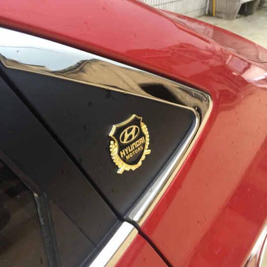 奇弗斯 汽车车贴金属麦穗贴 个性专车立体麦穗侧标改装一对2片装 变形金刚 银色款麦穗标贴 晒单图