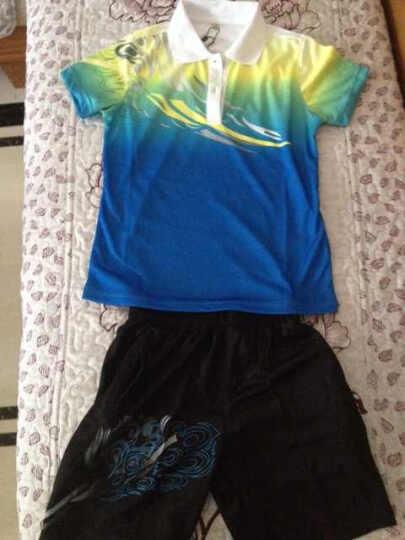 谷铁 三件套 新款篮球服 情侣运动套装 男女羽毛球服运动外套 亲子装 情侣运动服 庆典礼服 蓝色-两件套 儿童S 晒单图