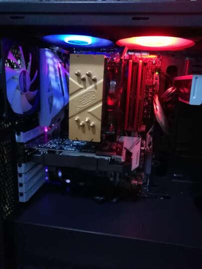 九州风神(DEEPCOOL) 玄冰400金鳞版 cpu散热器(多平台/支持AM4/4热管/智能温控/12CM风扇/附带硅脂) 晒单图