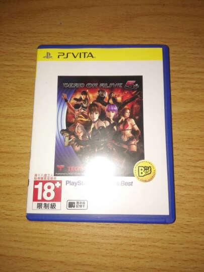 索尼(SONY) 索尼 Sony PSV 游戏 正版 实体卡带 死或生5 生与死5 DOA5 中文BEST 晒单图