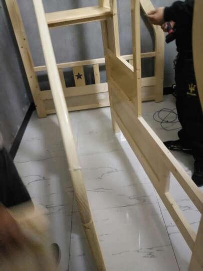 皇家御兔 床全实木床上下床双人床高低床双层床上下铺公主床 联系客服有好礼 送货上门   并安装 晒单图