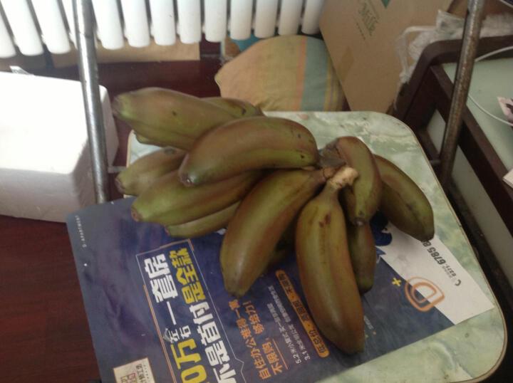 前岩山 福建土楼特产水果美人蕉 红香蕉 红皮香蕉5斤 孕妇水果2500g 晒单图