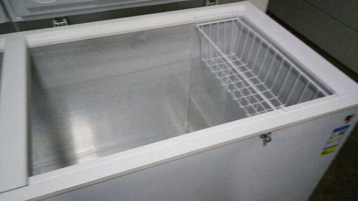 海尔(Haier)商用卧式冷柜826升冷冻冷藏转换大冰柜 晒单图