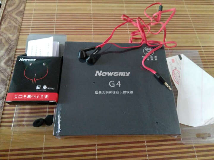 纽曼(Newsmy)G4 16G 便携HIFI播放器 无损高清音乐播放器 发烧音质 MP3 黑色 晒单图