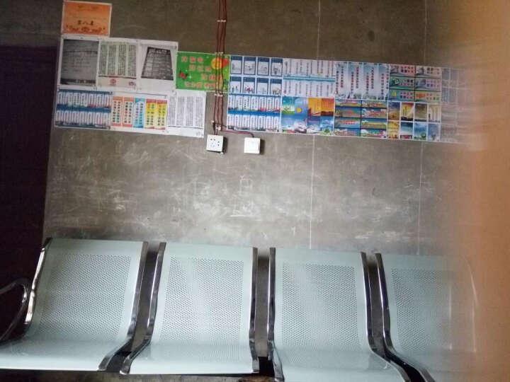 普拉格 排椅 机场椅 公共长椅 候车椅 钢制排椅银行等候椅医院候诊椅输液椅 五人位(其他颜色请备注) 晒单图