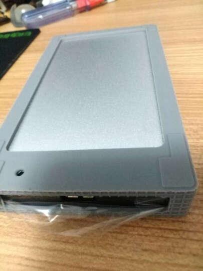 奥睿科(ORICO)移动硬盘盒2.5英寸 USB3.0外置盒子 硅胶套保护套/防震套 SATA串口笔记本SSD固态 灰色2558S3 晒单图