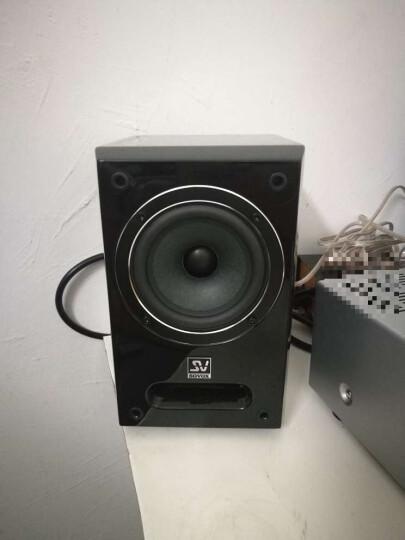 索威(SV) S840PRO 2.0声道 迷你音响 无源音响 发烧HIFI 监听书架箱(黑色) 晒单图