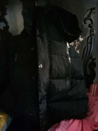 呵铛猫童装男童棉衣女童棉袄2-3-4-5-9周岁小孩子衣服2017儿童冬装外套短款棉衣 大毛领棉衣红色(毛领升级黄色) 100(身高90cm-100cm) 晒单图