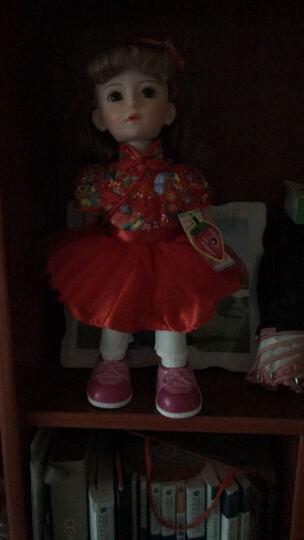 安娜公主 会说话的智能娃娃 第五代洋娃娃走路唱歌对话语音跳舞讲故事女孩玩具手机APP互动 51充电版粉色蕾丝公主裙 晒单图