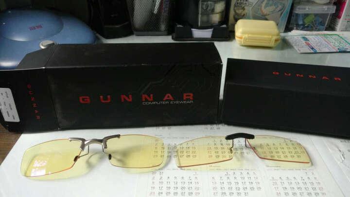 GUNNAR Bit 防辐射防蓝光眼镜夹片男女近视镜护目夹片 晒单图