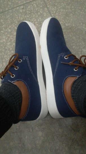 策乐(CELE)男鞋休闲鞋 户外运动板鞋 男士帆布鞋休闲皮鞋 乐福鞋 C36/浅灰- 40 晒单图