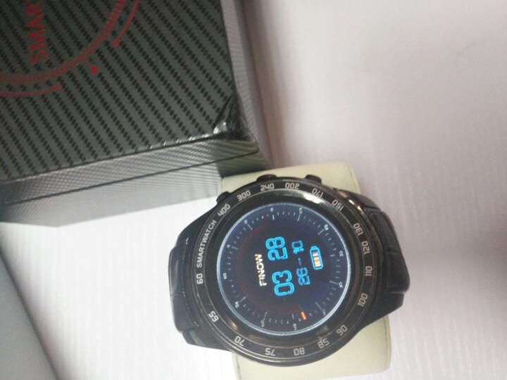 智能手表电话手表手机男女学生支持wifi蓝牙插卡GPS定位导航手表四核cpu X08可扩容版星空黑-自带8G+可扩容32G 晒单图