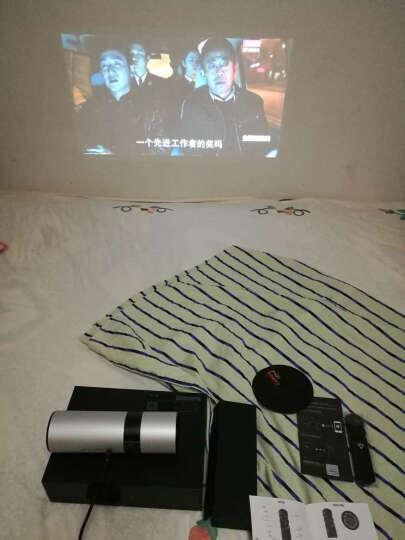 JmGo坚果投影仪p2 家用迷你办公高清移动便携式投影机智能无线wifi微型3D手机影院家庭无屏电视 坚果P2 户外出行野营套装 晒单图