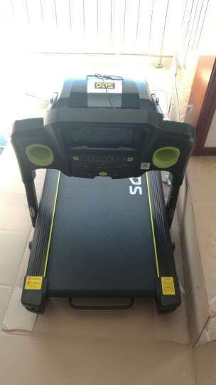 多德士(DDS)跑步机 7寸彩屏 WIFI 家用多功能静音 自助加油 (含跑步机垫 防尘罩)DDS870S 晒单图