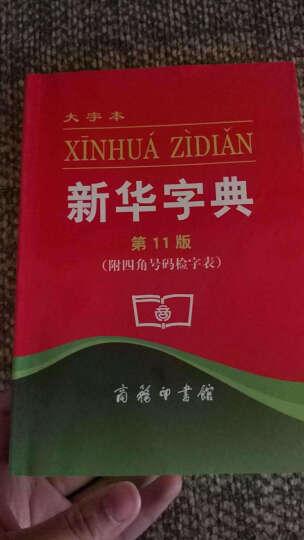 新华字典 第11版大字本 释义准确例证精当内容丰富简明实用 正版汉语辞典工具书 晒单图