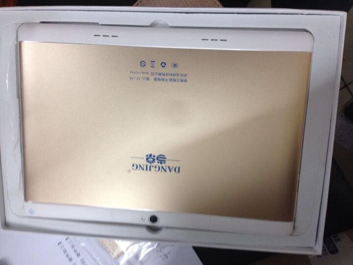 当京(DANGJIGN)平板电脑八核4G运行10.1英寸通话手机二合一 玫瑰金(64G)送12件豪礼 官方标配+皮套+键盘 晒单图