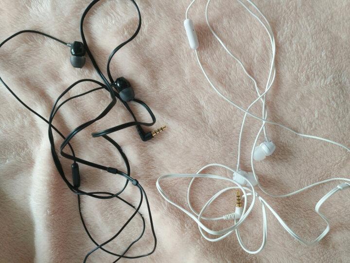 SONY 【全球购】索尼MDR-EX15AP 入耳式手机原装耳机重低音立体声带麦高清耳机 MDR-EX15AP 带麦白色 晒单图