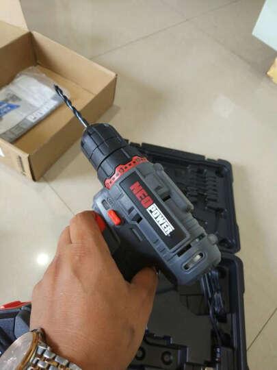 尼奥动力(neopower)手电钻电动螺丝刀锂电钻家用电动工具箱充电式手钻电转电起子五金工具12V充电钻ML-CD92 晒单图