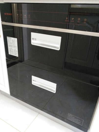 森太(SETIR) F266消毒柜嵌入式家用厨房消毒碗柜 黑色钢化玻璃轻触按键款 F320升级八键内嵌 一体冲压款 晒单图