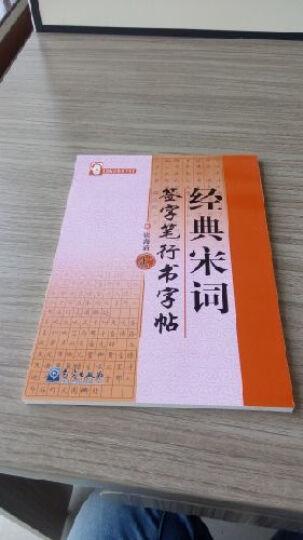张海清系列字帖:经典宋词签字笔行书字帖 晒单图