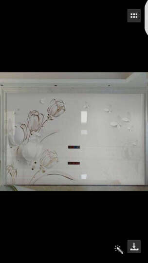 乾耀(QIANYAO) 瓷砖背景墙现代简约客厅电视背景墙磁砖立体雕刻艺术微晶石墙砖 郁香 水晶釉面+浮雕/0.1平方米 晒单图