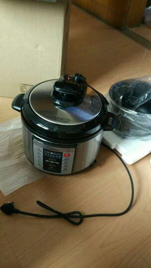 美的(Midea)电压力锅 一锅双胆 智能预约 WQC50A1P 5L高压锅 晒单图