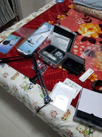 iSK ISK BM-5000电容麦克风话筒电脑K歌网络直播专业录音外置声卡主播套装 麦克风+创新内置7.1 A5 晒单图