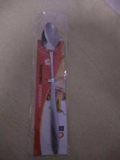 精达 不锈钢欧式汤匙 粥匙 饭勺中号勺子   9720 晒单图
