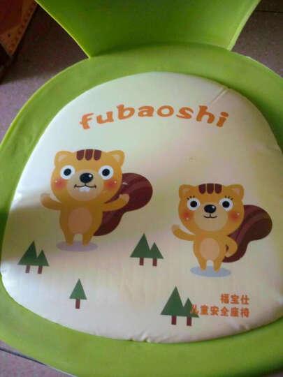 儿童叫叫椅宝宝儿童椅子靠背小板凳子塑料吱吱椅 绿色 晒单图