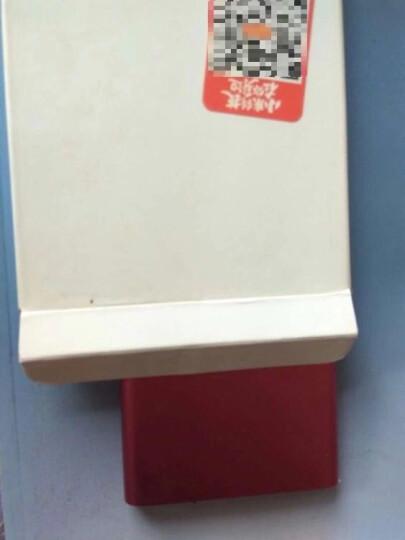 小米(MI) 5000毫安 移动电源/充电宝 锂离子聚合物电芯 全铝合金外壳 红 适用于安卓/苹果/手机/平板 晒单图