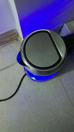 dostyle电水壶304不锈钢英国温控器玻璃电热水壶EK202(1.7L) 晒单图