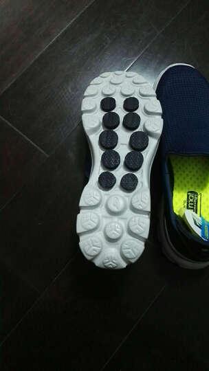 SKECHERS 斯凯奇GO WALK 3男款休闲健步鞋 舒适轻便豆豆鞋男54045 全黑色+C/BBK 39.5 晒单图