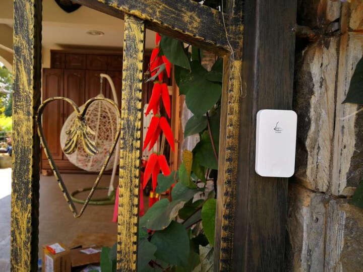领普门铃 无线家用自发电不用电池远距离别墅智能叮咚门铃呼叫器 G4 一拖二门铃套装 晒单图