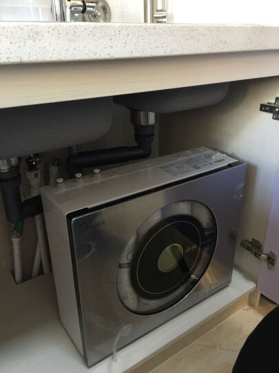 美的(Midea) 净水器 家用 直饮 净水机 MRU1691D-50G 真双膜 双出水纯水机反渗透 晒单图