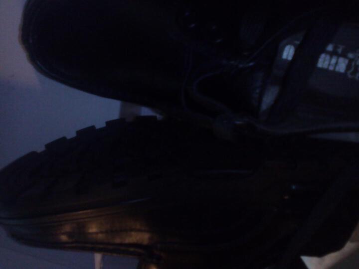 牛头牌男皮鞋95841 男式头层牛皮真皮日常商务休闲正装透气皮鞋 黑色 39 晒单图