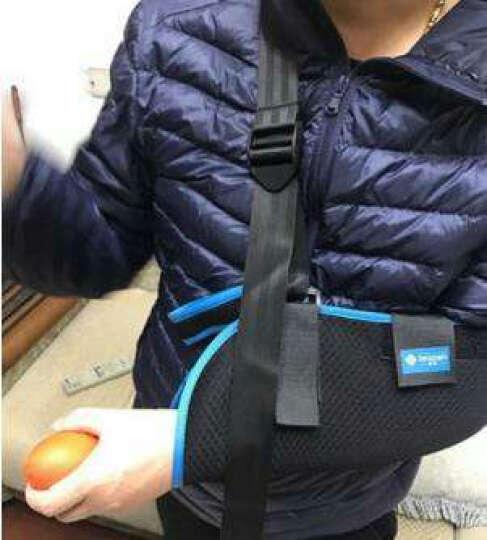 zeazen 益森手臂前臂透气吊带 胳膊手腕损伤肩部肘关节脱臼滑脱固定护具 小孩款(左右可调节)+握力球 M码(只有大人款适合145~170cm使用) 晒单图