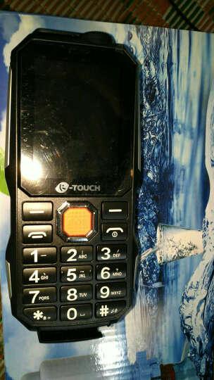 天语(K-TOUCH)T3 直板按键 三防老人手机 超长待机 双卡双待老人机 移动联通2G 黑色 晒单图